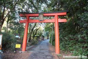竹中稲荷神社(左京区吉田神楽岡町)1