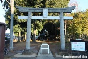 大間木氷川神社(さいたま市緑区東浦和)2