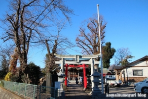 朝日神社(川口市木曾呂)1