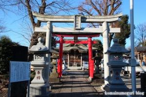 朝日神社(川口市木曾呂)4