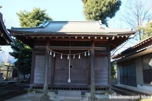 朝日神社(川口市木曾呂)20