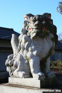 朝日神社(川口市木曾呂)10