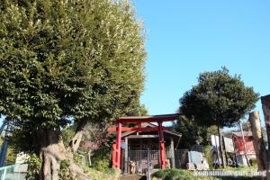 附島氷川女体神社(さいたま市緑区大間木)1