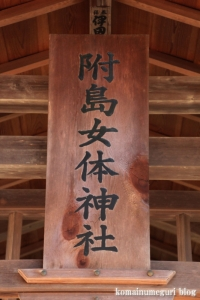 附島氷川女体神社(さいたま市緑区大間木)9
