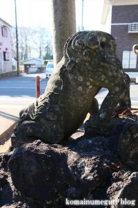 大谷口氷川神社(さいたま市南区大谷口)29
