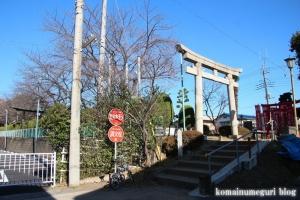 鶴ケ丸八幡神社(川口市芝)1