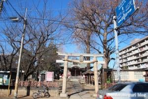 羽尽神社(川口市芝)1