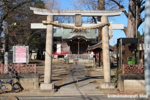 羽尽神社(川口市芝)2