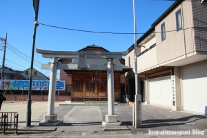 須賀神社(川口市芝)1