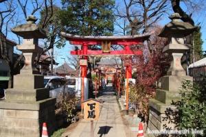 塚越稲荷神社(蕨市塚越)2