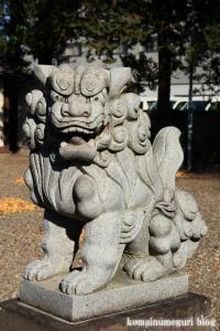 氷川神社(川口市上青木)6