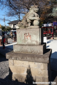 氷川神社(川口市青木)13