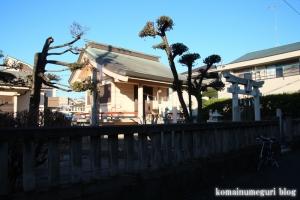下染谷稲荷神社(小金井市梶野町)1