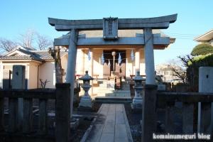 下染谷稲荷神社(小金井市梶野町)2