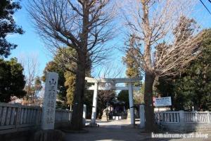 山王稲穂神社(小金井市本町)1