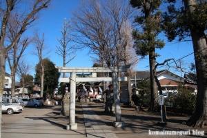 本多八幡神社(国分寺市本多)1