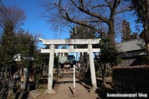内藤神社(国分寺市日吉町)1