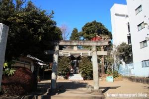 光町稲荷神社(国分寺市光町)1