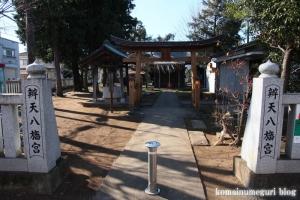 弁天八幡神社(国分寺市西町)1