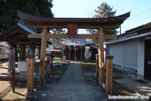 弁天八幡神社(国分寺市西町)2