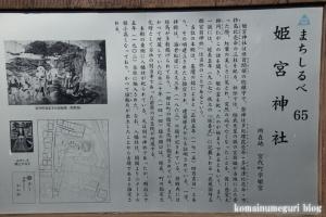 姫宮神社(南埼玉郡宮代町姫宮)5
