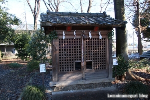 姫宮神社(南埼玉郡宮代町姫宮)18