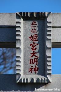 姫宮神社(南埼玉郡宮代町姫宮)4