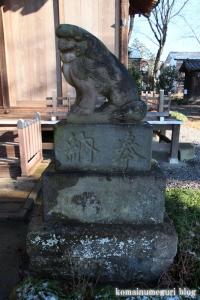 姫宮神社(南埼玉郡宮代町姫宮)24