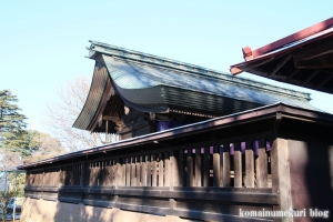 五社神社(南埼玉郡宮代町東)10