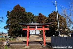 稲荷神社(北葛飾郡杉戸町堤根)1