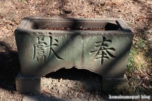 香取神社(北葛飾郡杉戸町北蓮沼)3