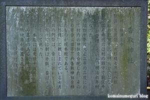 香取神社(北葛飾郡杉戸町北蓮沼)8