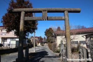 倉常神社(春日部市倉常)4