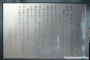 八幡神社(北葛飾郡杉戸町才羽)6