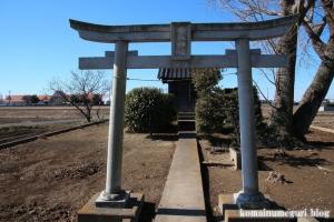 香取神社(北葛飾郡杉戸町才羽)2
