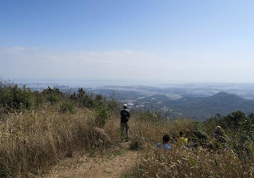 神石山からの浜名湖