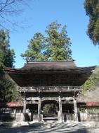 大矢田神社山門