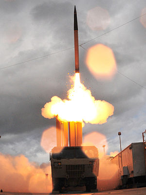 300px-Thaad_missile_and_launcher.jpg