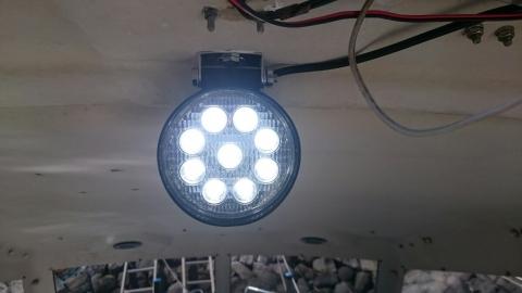 ライト取り付け11