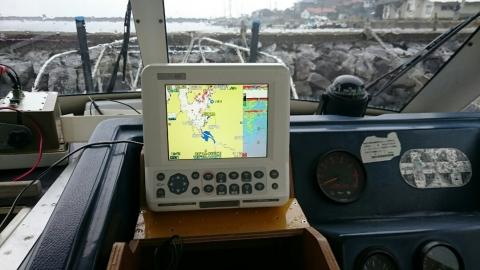 GPS取付4