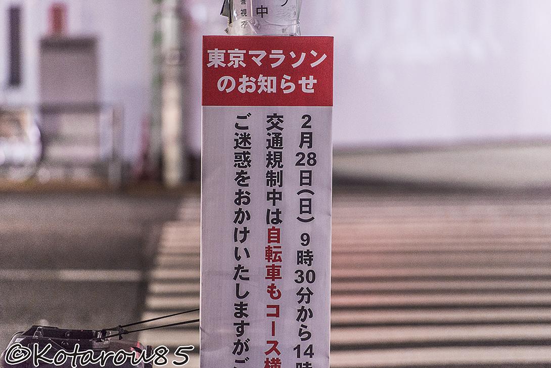 きょうは東京マラソン5 20160228