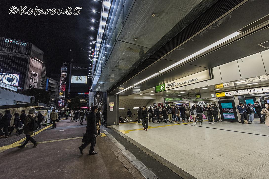深夜の渋谷3 20160316