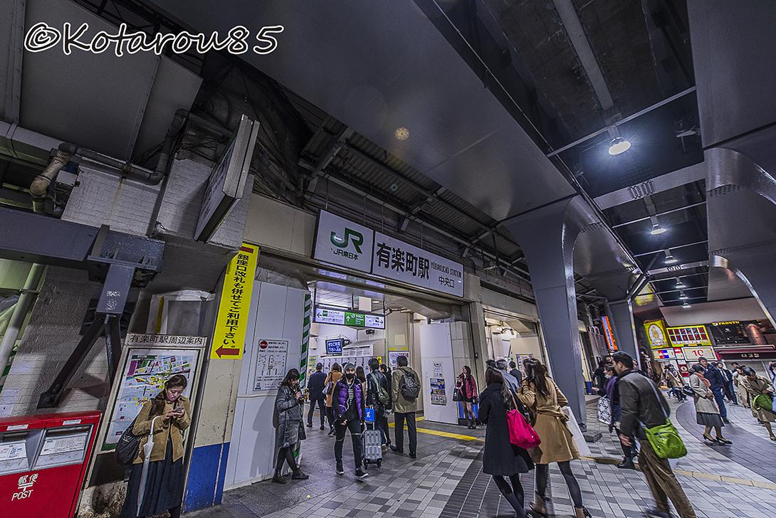 小雨ぱらつく都心3 20160329
