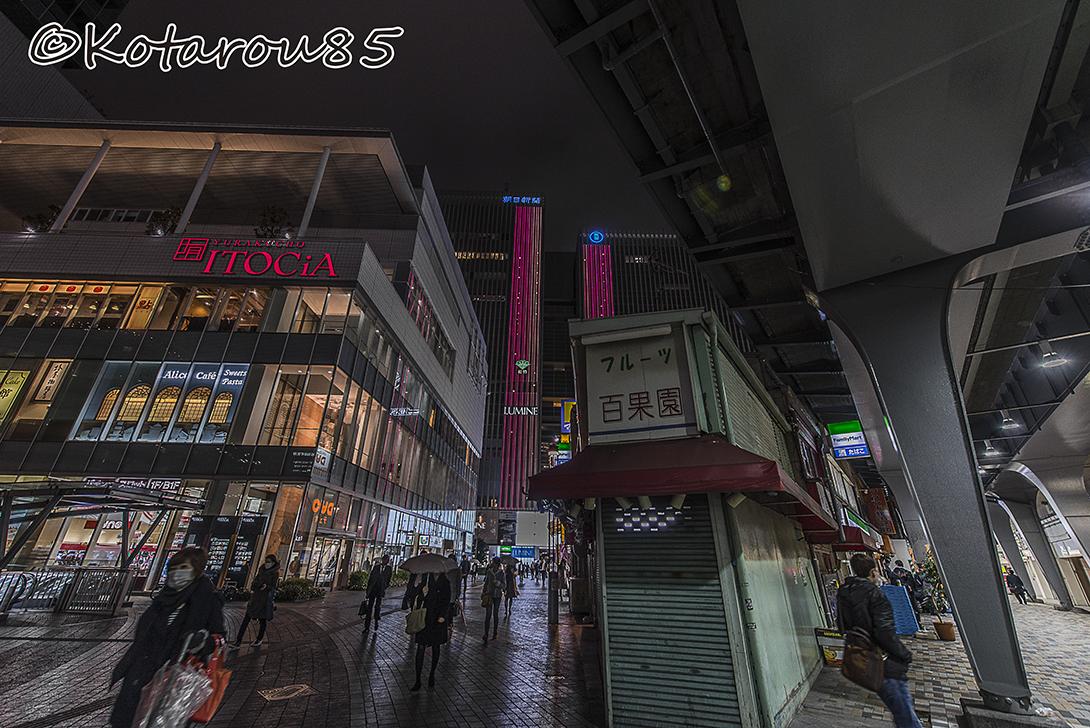 小雨ぱらつく都心4 20160329