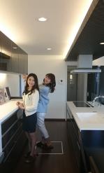 キッチン二人
