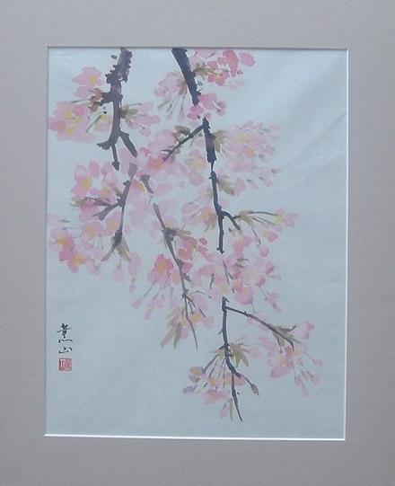 100222枝垂れ桜2大竹卓
