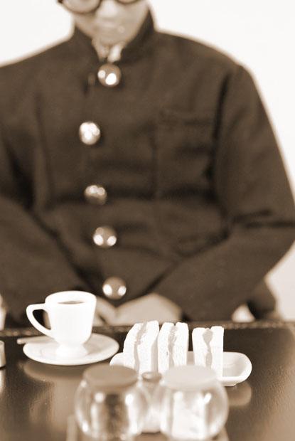 街角のレトロ喫茶店23