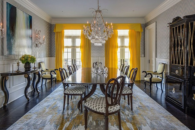 Bright-yellow-drapes-make-a-bold-statement-in-the-all-gray-dining-room.jpg