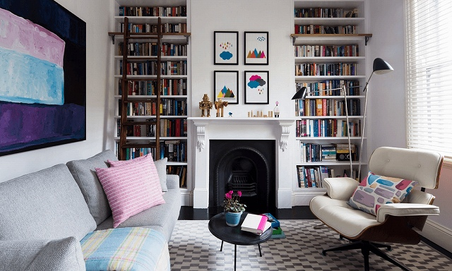 built-in-bookcases-and-patterned-rug.jpg