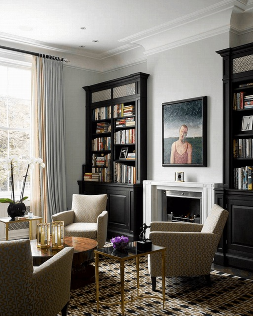 colored-rug-and-black-bookcases.jpg